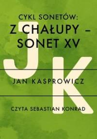 Cykl sonetów. Z chałupy - Sonet XV - Kasprowicz Jan