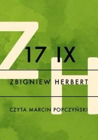 17 IX - Herbert Zbigniew