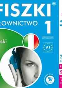 Fiszki audio. Język włoski. Słownictwo 1 - Wojsyk Patrycja