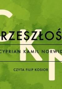 Przeszłość - Norwid Cyprian Kamil