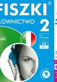 Fiszki audio. Język włoski. Słownictwo 2 - Wojsyk Patrycja