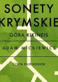 Sonety krymskie. Góra Kikineis - Mickiewicz Adam