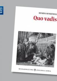 Quo vadis. Opracowanie - Sienkiewicz Henryk