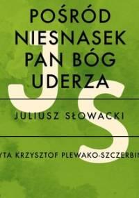 Pośród niesnasek Pan Bóg uderza - Słowacki Juliusz