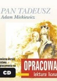 Pan Tadeusz. Opracowanie - Mickiewicz Adam