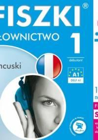 Fiszki audio. Język francuski. Słownictwo 1 - Wojsyk Patrycja
